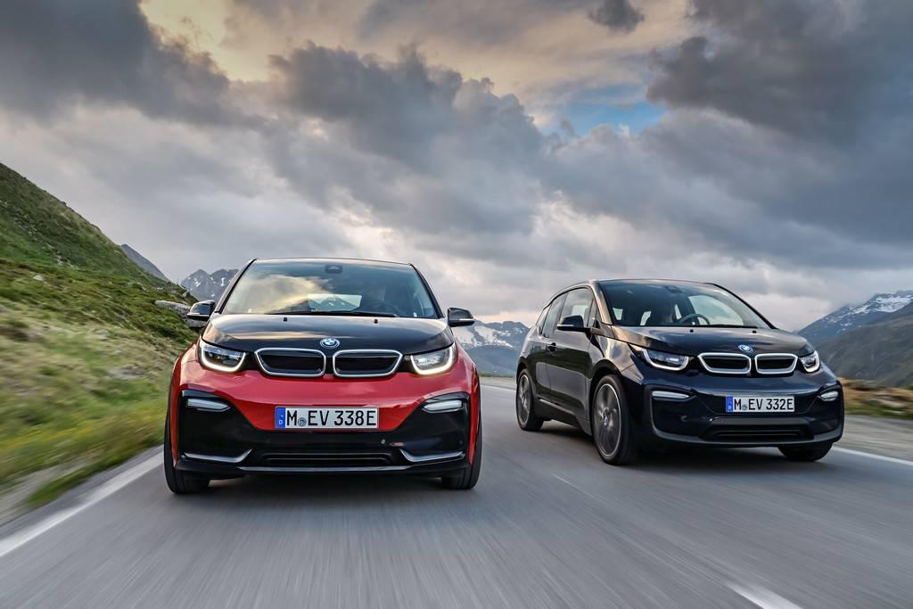 BMW nuova i3 Blue e Rossa Strada