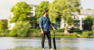 Audi e-tron scooter: il concept che strizza l'occhio ai monopattini e agli skateboard