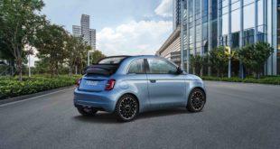 Fiat Nuova 500 Cabrio elettrica: ecco il listino