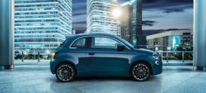 Nuova Fiat 500 Elettrica Berlina