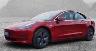 Auto elettriche: Tesla inizia il 2021 con il botto in Europa. Boom di Model 3