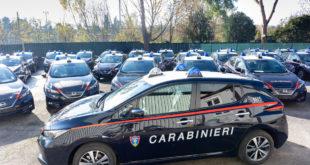 La Nissan Leaf si arruola con l'Arma dei Carabinieri