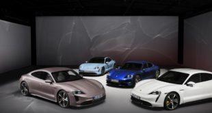 """Porsche Taycan, ecco il modello """"entry level"""": 408 cv e 431 km di autonomia"""