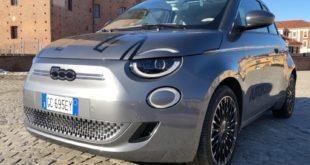 Fiat Nuova 500 Elettrica: il primo contatto di Alberto