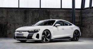 Audi e-tron GT, eccola senza veli. Debutto il 9 febbraio