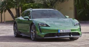 Porsche Taycan Cross Turismo: un po' wagon, un po' crossover