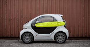 Xev Yoyo, la vetturetta stampata in 3D con batteria intercambiabile e stile italiano