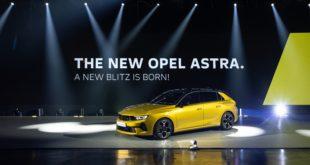 Opel Astra, dal 2023 sarà anche elettrica